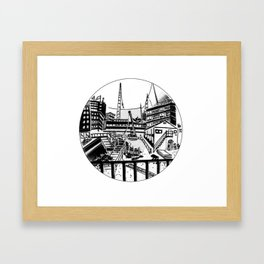 UT BOX SET/7 catharijnesingel Framed Art Print