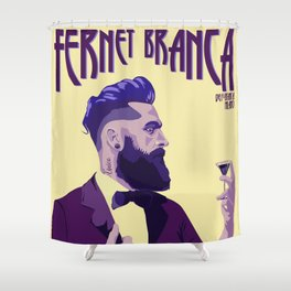 Fernet Branca new age Shower Curtain