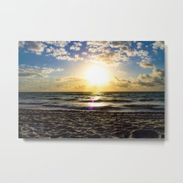 Cloudy Morning In The Sunshine State (IX) Metal Print