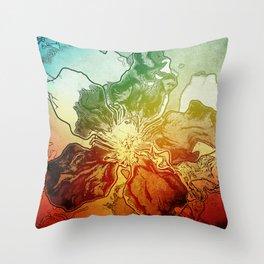Summer sence Throw Pillow