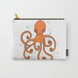 Octopus and Bubbles Carry-All Pouch