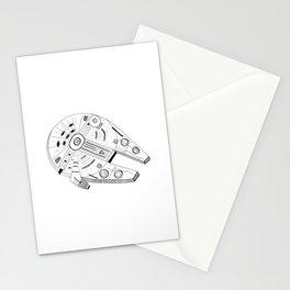 Millennium Falcon Stationery Cards