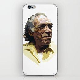 Charles Bukowski iPhone Skin