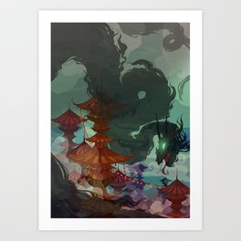 Ether Demon Art Print