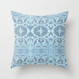 San Lorenzo Blue Throw Pillow