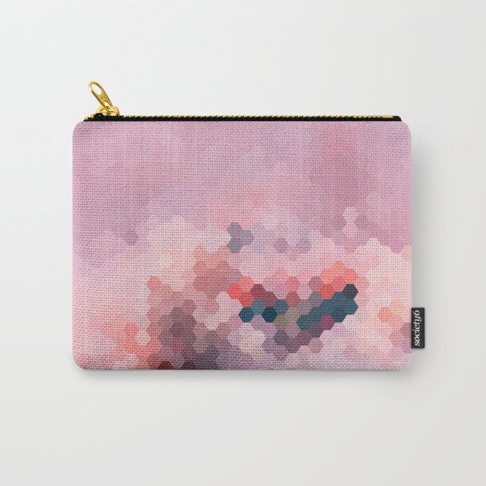 PINKY MINKY Carry-All Pouch