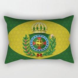 Dom Pedro II Coat of Arms Rectangular Pillow