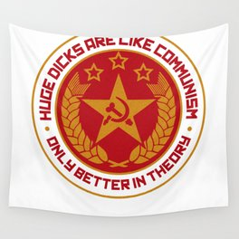Cockmunism Wall Tapestry