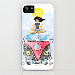 Jess Travel. Great vibes. Meditation. California. Adventure. Ocean. iPhone Case