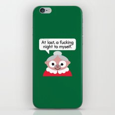 The Claus Come Out iPhone & iPod Skin