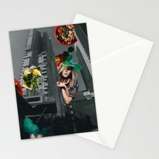 Food fantasy collage series #1 Stationery Cards