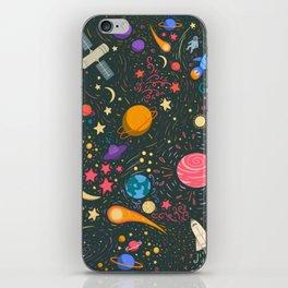 Space adventure iPhone Skin