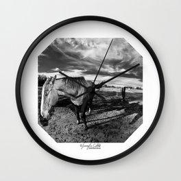 Farm Horse Wall Clock