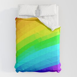 Crisscross Rainbow Design Comforters
