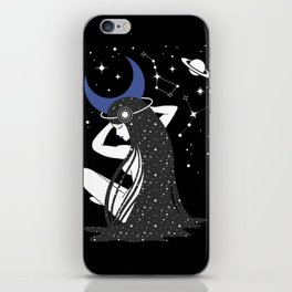 The Goddess of the Night iPhone Skin