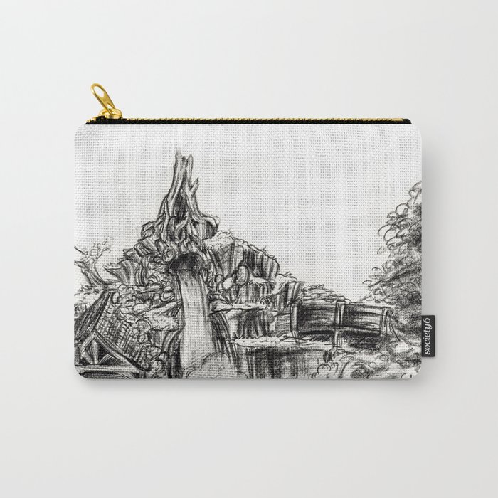 Splash Mountain Carry-All Pouch