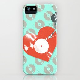 RECORD HEARTBEAT iPhone Case