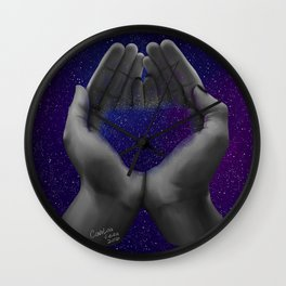 Handful of Stars Wall Clock
