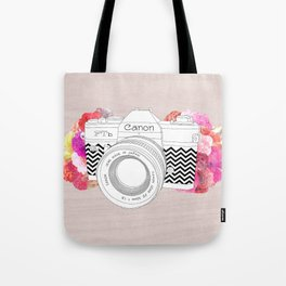 BLOOMING CAN0N Tote Bag