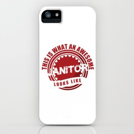 Awesome Janitor Cleaners Cleaning Service Gift iPhone Case