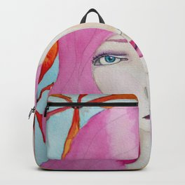 Bella SASS Girl - Pink - SASS = STRONG and SUPER SMART Backpack