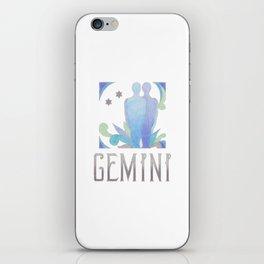 Gemini - air sign iPhone Skin