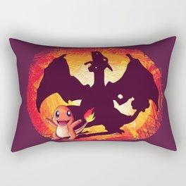 Charmander's dreams Rectangular Pillow