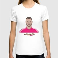 real madrid T-shirts featuring KARIM BENZEMA - REAL MADRID by THE CHAMPION'S LEAGUE'S CHAMPIONS