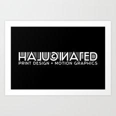 Halucinated Logo Art Print