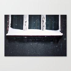 Curtains Canvas Print