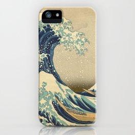 The Great Wave - Katsushika Hokusai iPhone Case
