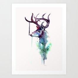 Me Deer Art Print
