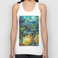 switzerland Tank Tops featuring SWITZERLAND by Kelli Gedvil