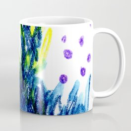 blue fire Coffee Mug