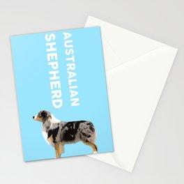 Australian Shepherd #3 Stationery Cards