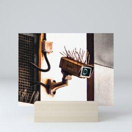 The Security Camera Mini Art Print