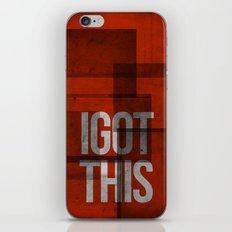 i got this iPhone & iPod Skin