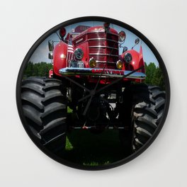 Monster Fire Truck Wall Clock