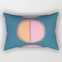 Three Circles Rectangular Pillow