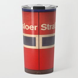 Berlin U-Bahn Memories - Osloer Straße Travel Mug