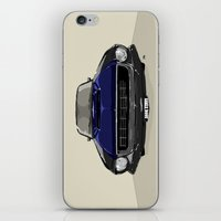 mustang iPhone & iPod Skins featuring Mustang by Hypathie Aswang