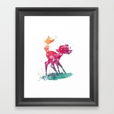 Bambi Disneys Framed Art Print
