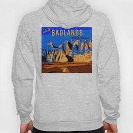 Visit Badlands Retro Postcard Hoody