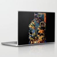 skulls Laptop & iPad Skins featuring Skulls By Annie Zeno by AZ Creative Visions