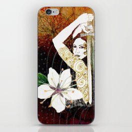 Blackthorn Plant Ally card iPhone Skin