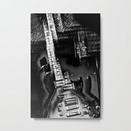 Rock Star an electric guitar abstract Metal Print