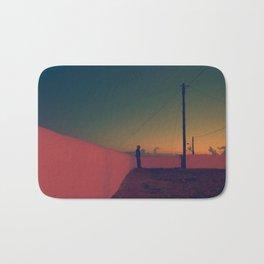 Sunset at Cabo da Roca Bath Mat