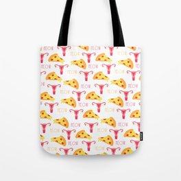 Pizza n' Pussy Tote Bag