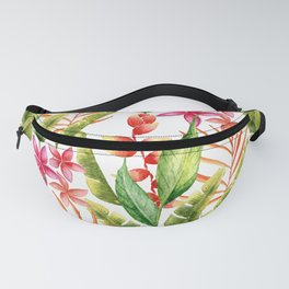 Tropical Leaves 7 Fanny Pack