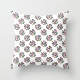 Everlasting gobstopper Throw Pillow